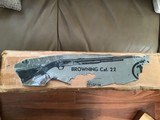 BROWNING TROMBONE 22 LR. MFG. IN BELGIUM NEW UNFIRED, NEVER BEEN ASSEMBELED 100% COND. NEW IN THE BOX - 9 of 9
