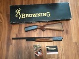 """BROWNING MODEL 12, 28 GA., 26"""" MOD. VENT RIB, NEW UNFIRED 100% COND. IN THE BOX WITH OWNERS MANUAL, ETC."""