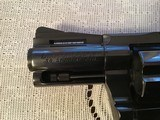 """COLT DIAMONDBACK 38 SPC., 2 1/2"""" BLUE, APPEARS UNFIRED, 100% COND. IN THE BOX WITH OWNERS MANUAL HANG TAG, ETC. - 5 of 6"""