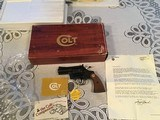 """COLT DIAMONDBACK 38 SPC., 2 1/2"""" BLUE, APPEARS UNFIRED, 100% COND. IN THE BOX WITH OWNERS MANUAL HANG TAG, ETC. - 1 of 6"""