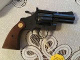 """COLT DIAMONDBACK 38 SPC., 2 1/2"""" BLUE, APPEARS UNFIRED, 100% COND. IN THE BOX WITH OWNERS MANUAL HANG TAG, ETC. - 2 of 6"""