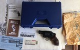 "SMITH &WESSON 460 PERFORMANCE CENTER 38 SPC. + P, AIRWEIGHT, 2"" FACTORY PORTED BARREL, 5 SHOT, HAMMERLESS, ONLY 450 MFG. NEW IN BOX"