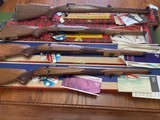 """WINCHESTER 70 MANLICHER STOCK, 243, 270, 308 & 30-06,19"""" BARREL, ALL 4 CALIBERS WINCHESTER MFG THESE IN, ALL 4 ARE NEW UNFIRED 100% COND. IN THE BOXES - 1 of 10"""
