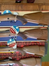 """WINCHESTER 70 MANLICHER STOCK, 243, 270, 308 & 30-06,19"""" BARREL, ALL 4 CALIBERS WINCHESTER MFG THESE IN, ALL 4 ARE NEW UNFIRED 100% COND. IN THE BOXES - 6 of 10"""