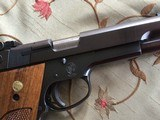 SMITH & WESSON 52-2, 38 MID RANGE CAL., KNOWN AS 38 WAD CUTTER COMES WITH 2 FACTORY MAG'S,, WRENCH, OWNERS MANUAL AS NEW IN THE BOX - 5 of 7