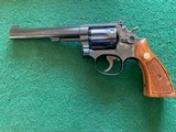 """SMITH & WESSON 48-4, 22 MAGNUM, 6"""" BLUE, APPEARS UNFIRED AFTER LEAVIG THE FACTORY, COMES IN THE BOX WITH OWNERS MANUAL, OIL PAPER, ETC. - 3 of 5"""