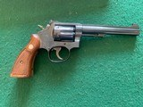 """SMITH & WESSON 48-4, 22 MAGNUM, 6"""" BLUE, APPEARS UNFIRED AFTER LEAVIG THE FACTORY, COMES IN THE BOX WITH OWNERS MANUAL, OIL PAPER, ETC. - 2 of 5"""