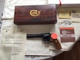 """COLT BOA 6"""" BLUE, NEW IN THE BOX, SERIAL NUMBER 11 of 1,200 TOTAL BOA'S MFG."""