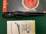RUGER OLD ARMY 45 CAL. BLACK POWDER REVOLVER, 7 1/2"