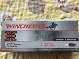 WINCHESTER 223 WSSM, 223 SHORT MAG. 55 GRAIN