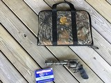 """COLT ANACONDA """"REAL TREE EDITION"""" 44 MAGNUM, COMES WITH FACTORY OWNERS MANUAL, REAL TREE SOFT ZIPPER CASE, NO SCOPE"""