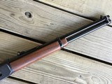 """WINCHESTER 94 WRANGLER BIG LOOP CARBINE 16"""" BARREL, 32 SPC. CAL. COWBOY SCENES ENGRAVED ON BOTH SIDES OF THE RECEIVER, NEW UNFIRED IN THE BOX - 6 of 8"""
