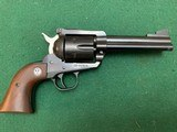 "RUGER BLACKHAWK 357 MAGNUM, 4 5/8"" BARREL,NEW MODEL TRANSITION 3 SCREW TO 2 PIN, PRE - WARNING GUN1972-73"