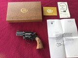 """COLT DIAMONDBACK 38 SPC. 2 1/2"""" BLUE, NEW IN THE BOX, COMES WITH OWNERS MANUAL, HANG TAG, COLT LETTER, ETC."""