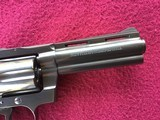 """COLT DIAMONDBACK 22 LR. 4"""" BLUE, MFG. 1969, NEW UNFIRED IN THE BOX, WITH OWNERS MANUAL, HANG TAG, COLT LETTER, ETC. - 4 of 10"""