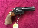 """COLT DIAMONDBACK 22 LR. 4"""" BLUE, MFG. 1969, NEW UNFIRED IN THE BOX, WITH OWNERS MANUAL, HANG TAG, COLT LETTER, ETC. - 2 of 10"""