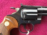 """COLT DIAMONDBACK 22 LR. 4"""" BLUE, MFG. 1969, NEW UNFIRED IN THE BOX, WITH OWNERS MANUAL, HANG TAG, COLT LETTER, ETC. - 7 of 10"""