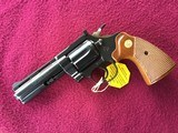 """COLT DIAMONDBACK 22 LR. 4"""" BLUE, MFG. 1969, NEW UNFIRED IN THE BOX, WITH OWNERS MANUAL, HANG TAG, COLT LETTER, ETC. - 3 of 10"""
