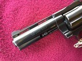 """COLT DIAMONDBACK 22 LR. 4"""" BLUE, MFG. 1969, NEW UNFIRED IN THE BOX, WITH OWNERS MANUAL, HANG TAG, COLT LETTER, ETC. - 8 of 10"""