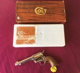 """COLT SAA ARMY 44 SPC. 5 1/2"""" BRIGHT NICKEL, NEW UNFIRED IN THE BOX WITH OWNERS MANUAL, HANG TAG, ETC. - 1 of 5"""