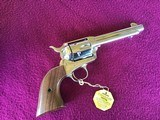 """COLT SAA ARMY 44 SPC. 5 1/2"""" BRIGHT NICKEL, NEW UNFIRED IN THE BOX WITH OWNERS MANUAL, HANG TAG, ETC. - 2 of 5"""