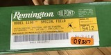 """REMINGTON 1100 SPECIAL FIELD 28 GA., 21"""" IMPROVED CYLINDER, VENT RIB, NEW UNFIRED IN THE BOX WITH OWNERS MANUAL, ETC. ONE OF ONLY 200 MFG. - 9 of 9"""
