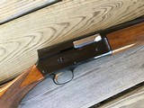 """BELGIUM BROWNING A-5 SWEET-16, 28"""" MOD., VENT RIB, MFG. 1957, ALL FACTORY ORIGINAL & LIKE NEW COND. - 7 of 7"""
