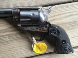 """COLT SAA, 357 MAGNUM CAL. 7 1/2"""" BLUE, MFG. 1978, NEW UNFIRED, UNTURNED IN THE BOX - 5 of 6"""