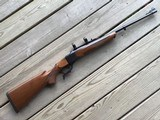 RUGER #1 222 REMINGTON CAL. 99+% COND. APPEARS UNFIRED