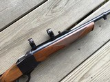 RUGER #1 222 REMINGTON CAL. 99+% COND. APPEARS UNFIRED - 4 of 5