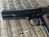 COLT 1911, 38 SUPER CAL. GOVERNMENT STYLE, MFG. 1950, IN ORIGINAL BOX WITH OWNERS MANUAL - 3 of 6