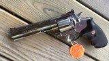 """COLT ANACONDA 44 MAGNUM, 6"""" STAINLESS NEW UNFIRED, UNTURNED, 100% COND. MFG. IN THE EARLY 1990'S, IN THE COLT PICTURE BOX - 3 of 9"""