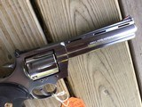 """COLT ANACONDA 44 MAGNUM, 6"""" STAINLESS NEW UNFIRED, UNTURNED, 100% COND. MFG. IN THE EARLY 1990'S, IN THE COLT PICTURE BOX - 7 of 9"""