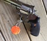 """COLT ANACONDA 44 MAGNUM, 6"""" STAINLESS NEW UNFIRED, UNTURNED, 100% COND. MFG. IN THE EARLY 1990'S, IN THE COLT PICTURE BOX - 6 of 9"""