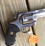 """COLT ANACONDA 44 MAGNUM, 6"""" STAINLESS NEW UNFIRED, UNTURNED, 100% COND. MFG. IN THE EARLY 1990'S, IN THE COLT PICTURE BOX - 5 of 9"""