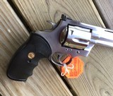 """COLT ANACONDA 44 MAGNUM, 6"""" STAINLESS NEW UNFIRED, UNTURNED, 100% COND. MFG. IN THE EARLY 1990'S, IN THE COLT PICTURE BOX - 4 of 9"""