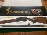 """BROWNING A-5, 20 GA. 3"""" MAGNUM, JAP, 26"""" INVECTOR, NEW NEVER BEEN SHOT, 100% COND. IN THE BOX"""