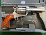 """RUGER BLACKHAWK 357 CAL., 4 5/8""""BARREL SATIN STAINLESS, 99% COND. IN THE BOX"""