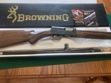 """BROWNING A-5, 20 GA. 3"""" MAGNUM, 26"""" INVECTOR, UNFIRED 100% COND. IN THE BOX"""