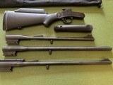 ROSSI 3 BARREL SET, 20 GA., 22 LR., 243 CAL. EXCELLENT COND. - 2 of 4
