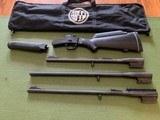 ROSSI 3 BARREL SET, 20 GA., 22 LR., 243 CAL. EXCELLENT COND. - 1 of 4