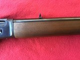 MARLIN 444 MODEL, 444 MARLIN CAL., MICRO GROOVE BARREL, JM STAMPED, ENGLISH STOCK, 99% COND. - 7 of 9