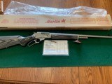 """MARLIN 1895 MXLR, 450 MARLIN CAL., STAINLESS, 24"""" BARREL,, GRAY/BLACK LAMINATE STOCK, NEW UNFIRED IN THE BOX"""