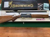 """BROWNING A-5, """"SWEET-16"""" 26"""" INVECTOR, NEW UNFIRED, 100% COND. IN THE BOX WITH OWNERS MANUAL, CHOKE TUBES, WRENCH ETC."""