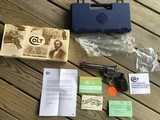 """COLT KODIAK 44 MAGNUM, 6"""" STAINLESS, NEW UNFIRED 100% COND. IN THE BLUE BOX WITH COLT PICTURE BOX SLEEVE"""