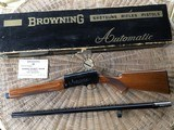 """BROWNING A-5 SWEET-16, 28"""" MOD. VENT RIB, MFG.LATE 1966, APPEARS UNFIRED IN ORIGINAL BOX"""
