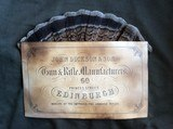 Antiqued Trade Labels - John Dickson, Charles Boswell, James Purdey