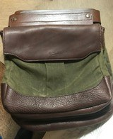 Mission Mercantile canvas & leather bird bag trio - new - 5 of 5