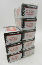 Lot of 8 New Boxes of Hornady 9mm 147 grain .355 BTHP/XTP: 800 Pieces Total