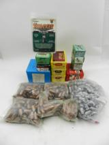 Reloader's Lot of Miscellaneous Bullets: 16 Boxes/Bags